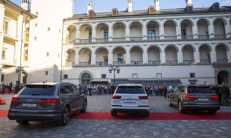 Restoranas Valdovų rūmuose turėtų pradėti veikti liepos pradžioje. Vladimiro Ivanovo (VŽ) nuotr.