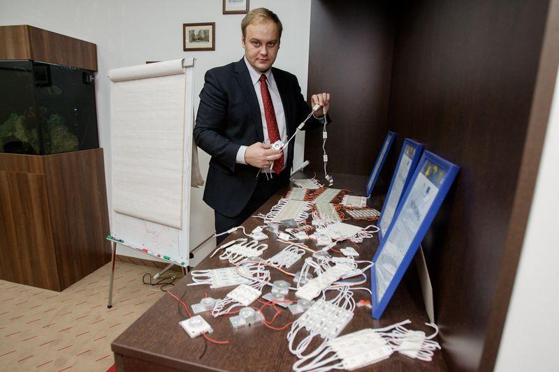"""Kęstutis Lukoševičius, vienas iš """"Baltled"""" akcininkų.  Vladimiro Ivanovo (VŽ) nuotr."""