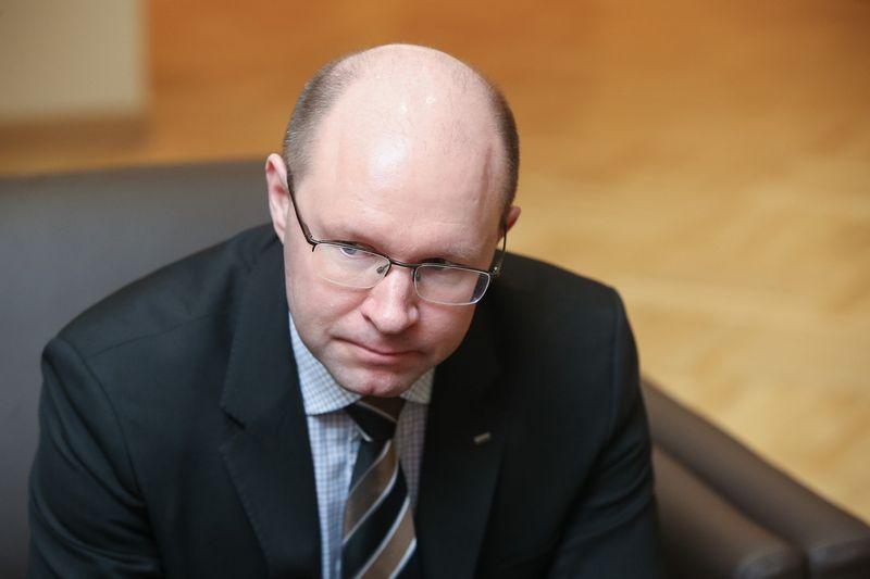 Kari Kauniskangas, Suomijos NT plėtros ir statybos įmonių grupės YIT prezidentas. Vladimiro Ivanovo (VŽ) nuotr.