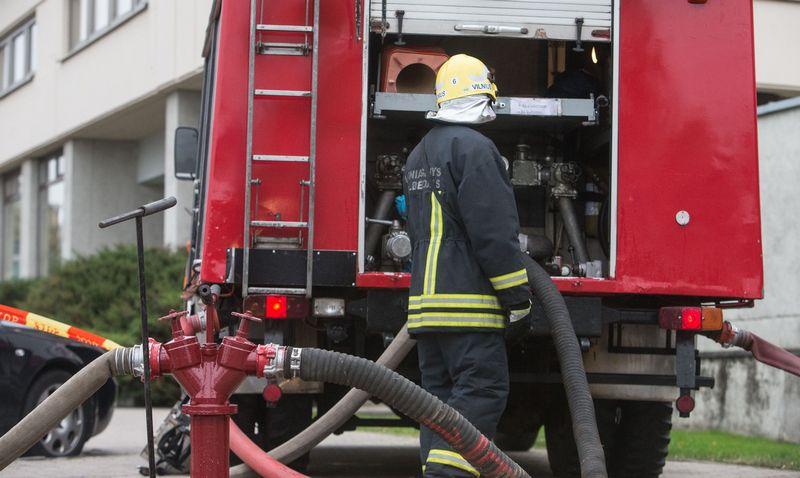 Lietuvoje kasmet per gaisrus žūsta apie 100 žmonių Juditos Grigelytės (VŽ) nuotr.