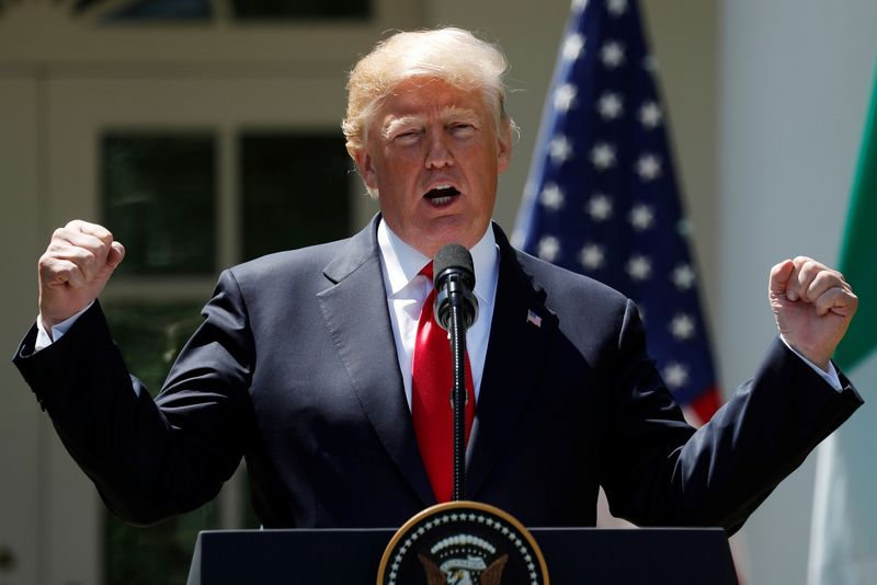 "JAV prezidentas Donaldas Trumpas. Kevino Lamarque (""Reuters"" / ""Scanpix"") nuotr."