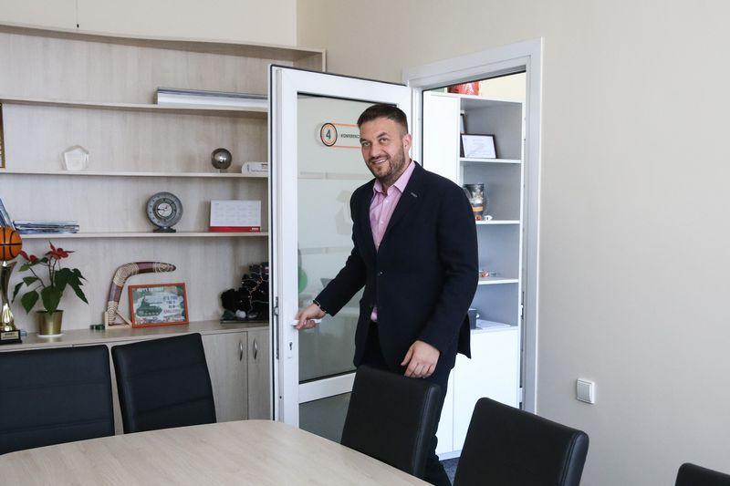 """Jurgis Adomavičius, UAB """"Bunasta"""" vadovas sako, kad sako vadovavimo įgūdžius vertina 8 balais. Vladimiro Ivanovo (VŽ) nuotr."""
