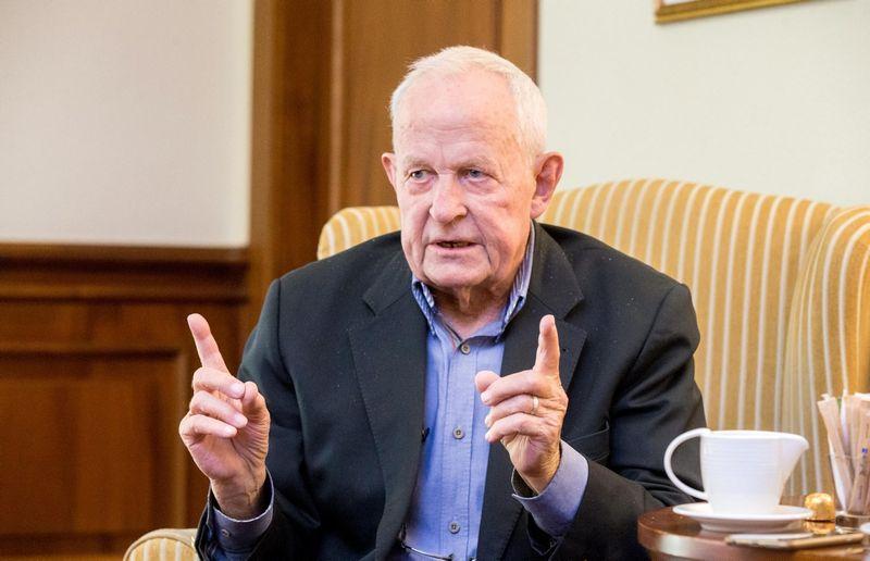 Jorgenas Friisbergas, vadovų paiešką atliekantis daugiau nei 50 metų, teigia, kad technologijos galvų medžioklės procesą apsunkino. Juditos Grigelytės (VŽ) nuotr.