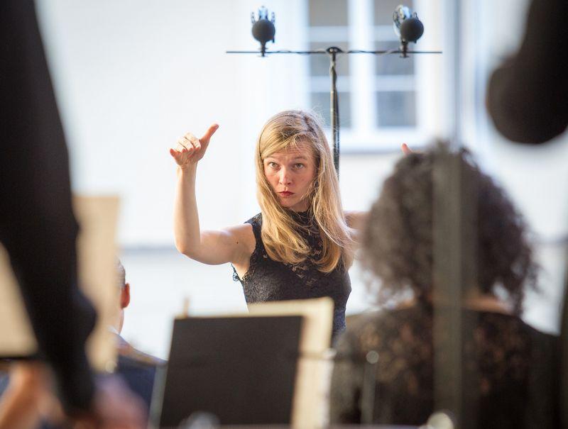 """Lietuvai Romoje atstovaus ir Birmingamo simfoninio orkestro dirigentė Mirga Gražinytė-Tyla. """"Scanpix"""" nuotr."""
