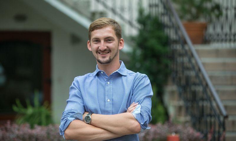 """Laimonas Noreika, tarpusavio skolinimo platformą """"FinBee""""  valdančios UAB """"Finansų bitė"""" įkūrėjas ir direktorius. Vladimiro Ivanovo (VŽ) nuotr."""