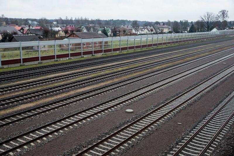 """Skelbiama, kad patvirtintos projektavimo gairės padidins """"Rail Baltica"""" magistralės galimybes ir paspartins jos tiesimo procesą. Juditos Grigelytės (VŽ) nuotr."""