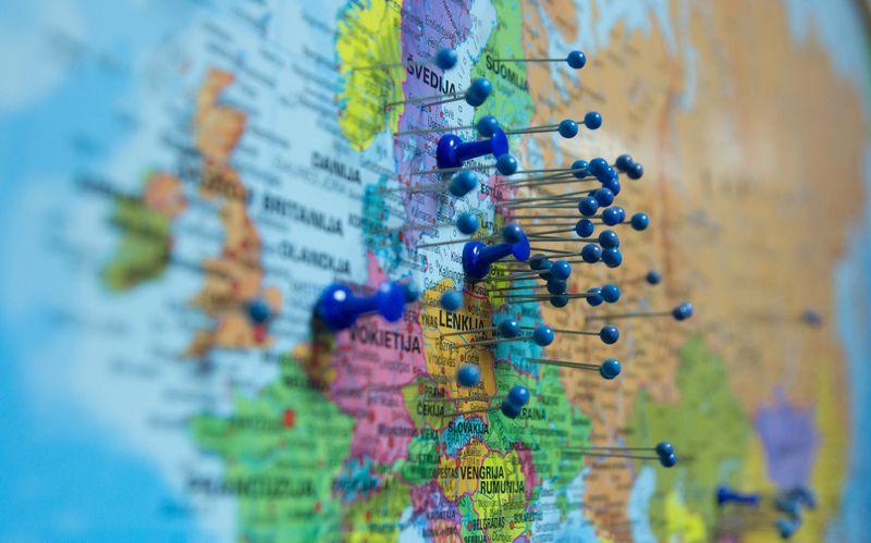 Lietuvos verslininkai ambicingiausiai iš Baltijos šalių nusiteikę eksporto atžvilgiu – 16% bendrovių šiemet planuoja žengti į naujas rinkas, Estijoje tokių ketinimų turi 8%, Latvijoje – 6% įmonių. Algimanto Kalvaičio nuotr.