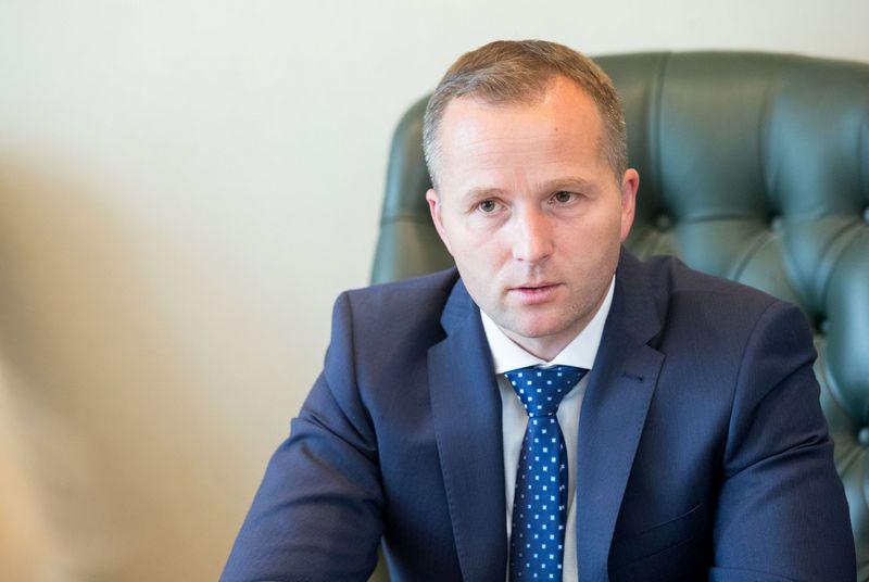 Audrius Bendaravičius, naujas SBA baldų kompanijos vadovas. Juditos Grigelytės (VŽ) nuotr.