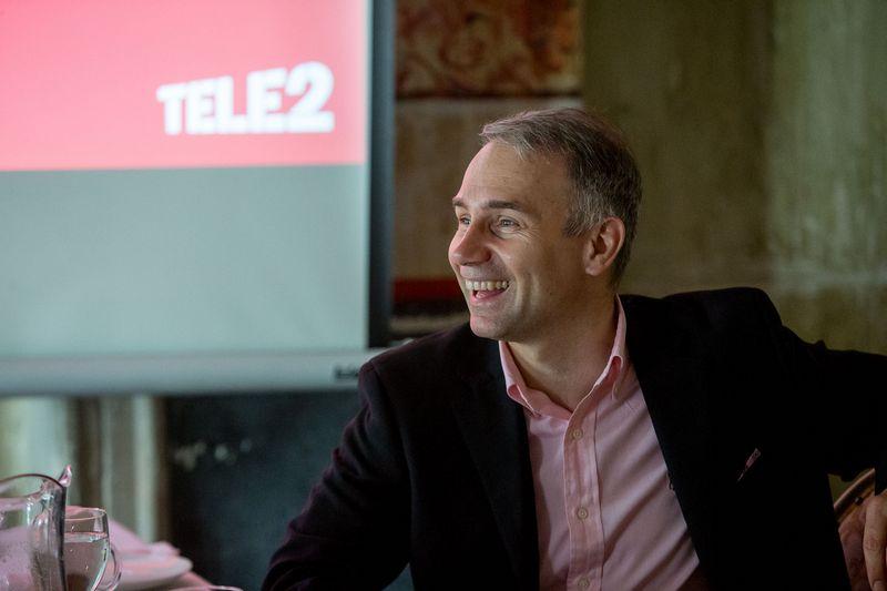 """Petras Masiulis, """"Tele2"""" generalinis direktorius. Vladimiro Ivanovo (VŽ) nuotr."""