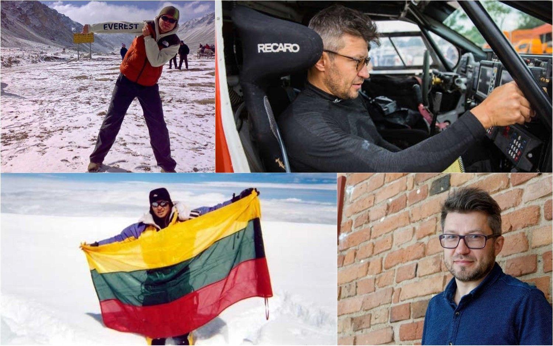 Ne vieną verslą sukūręs D. Vaičiulis –apie karjerą, Dakaro ralį ir tikimybę žūti kalnuose