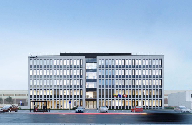 INHUS grupė įsikurs po vienu stogu – stato administracinį pastatą