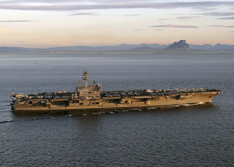 "Lėktuvnešis ""USS George H. W. Bush"". ""Reuters"" / ""Scanpix"" nuotr."
