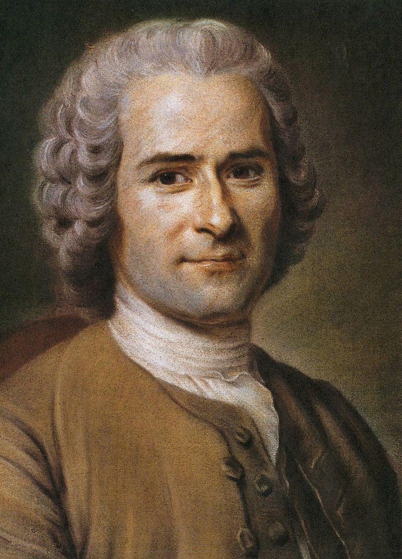 """Jeanas Jacques'as Rousseau rašė apie tai, kas jo dėka virto sudėtine vakarietiško mąstymo dalimi, – apie autentiškumo ilgesį. """"Vikipedijos"""" iliustr."""