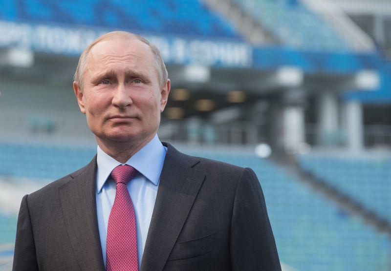 "Rusijos prezidentas Vladimiras Putinas. Sergejaus Gunevo (""Reuters"" / ""Scanpix"") nuotr."