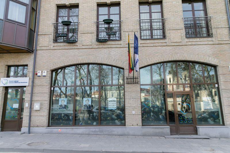 TS-LKD būstinė L. Stuokos-Gucevičiaus gatvėje. Vladimiro Ivanovo (VŽ) nuotr.