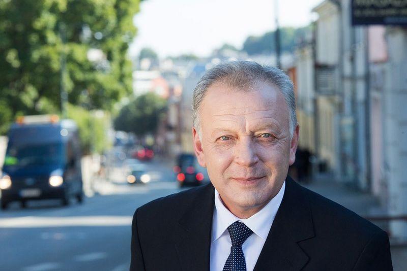 Petras Kuizinas, Telšių meras. Savivaldybės nuotr.