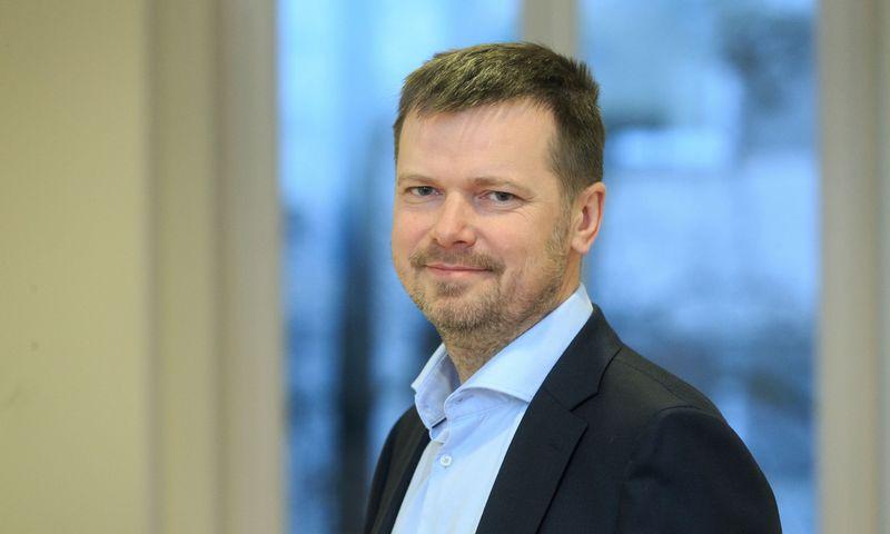 """Kęstutis Gečas, komunikacijos agentūros """"INK agency"""" vyriausiasis partneris. Vladimiro Ivanovo (VŽ) nuotr."""