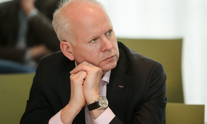 """Rolandas Viršilas, UAB """"Švyturys – Utenos alus"""" generalinis direktorius. Vladimiro Ivanovo (VŽ) nuotr."""