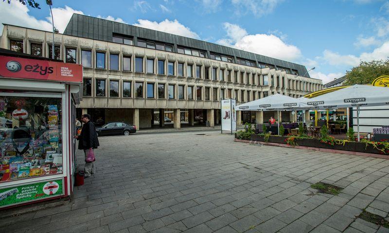 Sveikatos apsaugos ministerijos pastatas Vilniaus senamiestyje. Vladimiro Ivanovo (VŽ) nuotr.