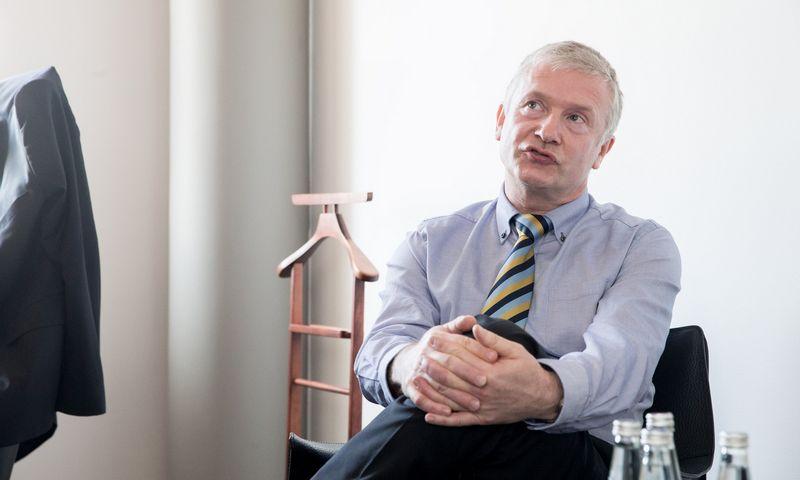 """Burkhardas Vogelis, """"Danpower GmbH"""" finansų direktorius. Juditos Grigelytės (VŽ) nuotr."""