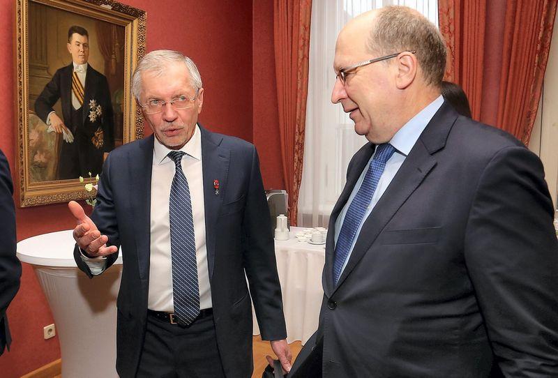 Gediminas Kirkilas ir Andrius Kubilius. Aliaus Koroliovo (15min.lt) nuotr.