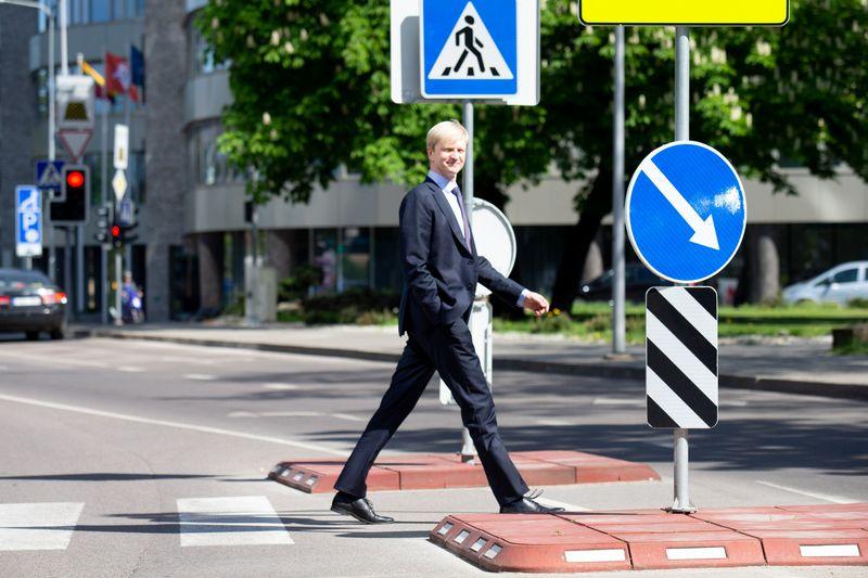 """VĮ """"Kelių priežiūra"""" generalinis direktorius Darius Aleknavičius. Juditos Grigelytės (VŽ) nuotr."""