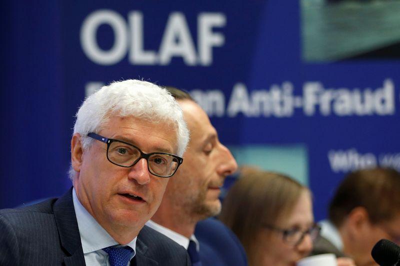 Europos kovos su sukčiavimu tarnybos OLAF generalinis direktorius Giovanni Kessleris.