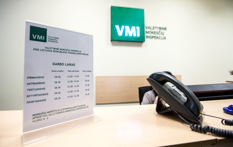 Nuo šiol informacija, kad įmonę tikrina VMI, yra vieša