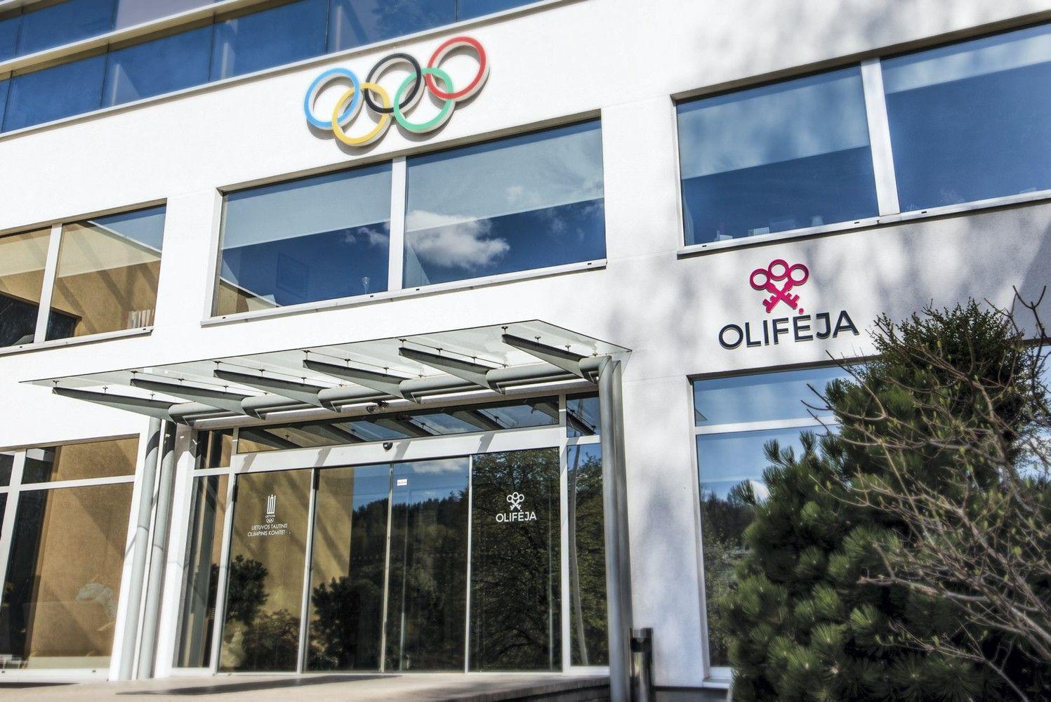 """""""Olifėja""""– olimpiečių aitvaras"""