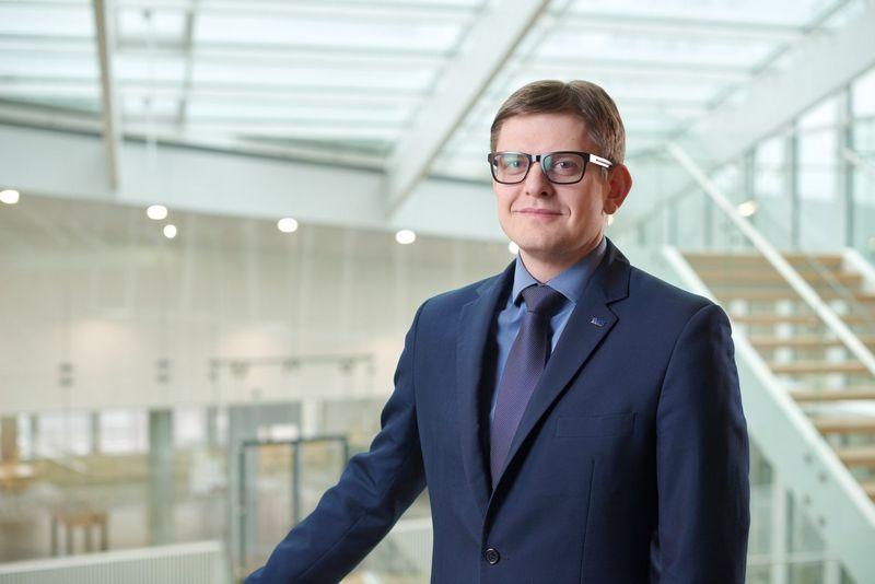 """Darius Klimašauskas, UAB """"KPMG Baltics"""" konsultacijų skyriaus direktorius."""