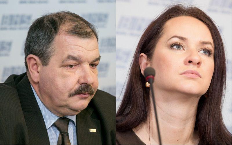 """Artūrą Černiauską profesinių sąjungų konfederacijos vadovo poste keičia Inga Ruginienė. """"15min"""" / """"Scanpix"""" nuotr."""