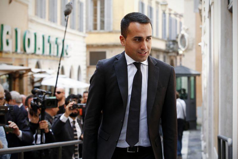 """Luigi Di Maio, """"Penkių žvaigždžių"""" lyderis. (""""LaPresse"""" / """"Reuters"""") nuotr."""