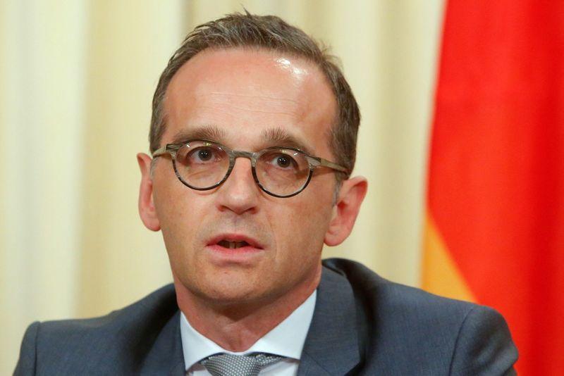 """Vokeitijos užsienio reikalų ministras Heiko Maasas. Sergei Karpukhino (""""Reuters"""" / """"Scanpix"""") nuotr."""