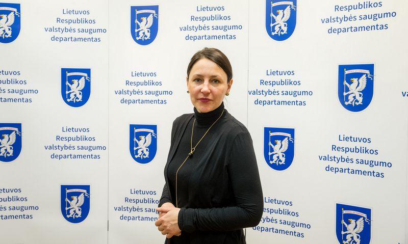 Aurelija Katkuvienė, Valstybės saugumo departamento strateginės komunikacijos vadovė. Juditos Grigelytės (VŽ) nuotr.