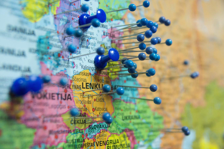 Kur ir ką eksportuoja Lietuvos įmonės