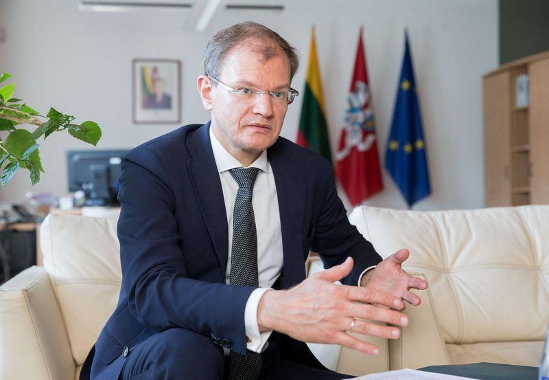 Albinas Zananavičius, Užsienio reikalų ministerijos viceministras. Juditos Grigelytės (VŽ) nuotr.