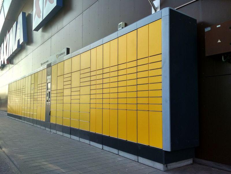 """""""LP Express"""" siuntų terminalas Bendrovės nuotr."""