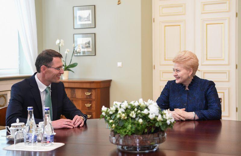 Prezidentės susitikimas su kandidatu į teisingumo ministrus Elvinu Jankevičiumi. Roberto Dačkaus (LR Prezidento kanceliarijos) nuotr.
