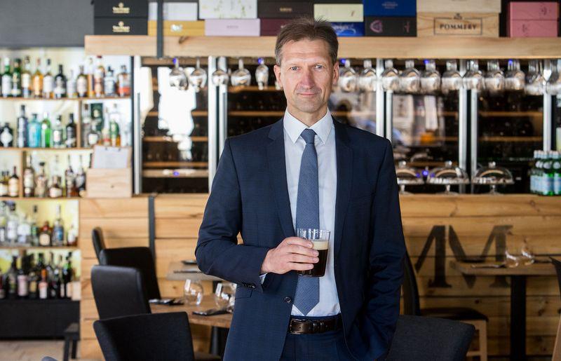 """Marijus Kirstukas, alaus gamybos UAB """"Kalnapilio-Tauro grupė"""" generalinis direktorius. Juditos Grigelytės (VŽ) nuotr."""