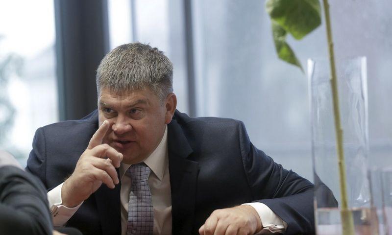 "Aigaras Kalvitis, ""Latvijas gaze"" valdybos pirmininkas.@TX Tekstas with indent:Into Kalninio (""Reuters""/""Scanpix"") nuotr."