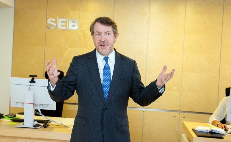 Seras Rogeris Giffordas, SEB banko Jungtinėje Karalystėje vadovas. Juditos Grigelytės (VŽ) nuotr.