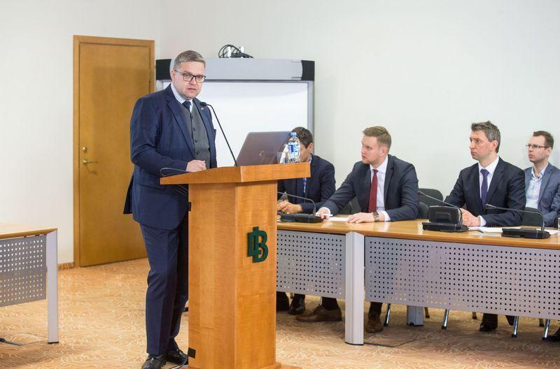 Vitas Vasiliauskas, Lietuvos banko valdybos pirmininkas. Juditos Grigleytės (VŽ) nuotr.