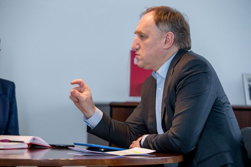 """Kęstutis Bagdonavičius, """"Ergo"""" draudimo bendrovių Baltijos šalyse valdybos pirmininkas Vladimiro Ivanovo (VŽ) nuotr."""