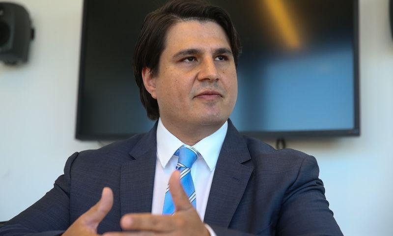 """Mariano Andrade Gonzalezas, """"Barclays"""" operacijų centro Lietuvoje vykdomasis direktorius. Vladimiro Ivanovo (VŽ) nuotr."""