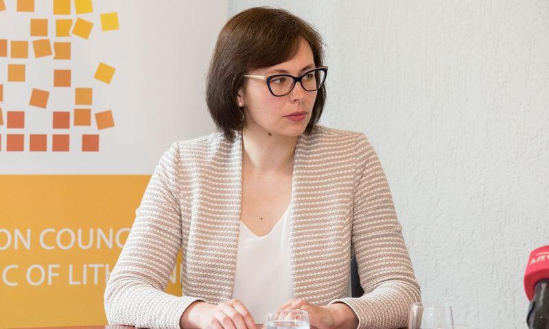 Konkurencijos tarybos narė Jolanta Ivanauskienė. Juditos Grigelytės (VŽ) nuotr.