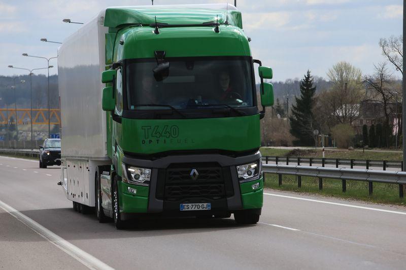 Europos Komisija paskelbė nuo 2025 m. pradėsianti riboti sunkiasvorio transporto taršą anglies dvideginiu. Vladimiro Ivanovo (VŽ) nuotr.
