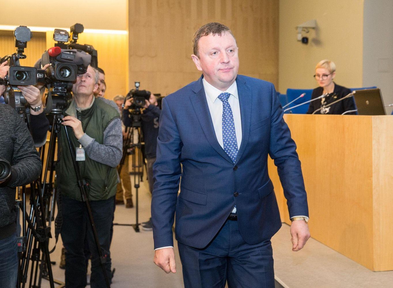 """VSD raštas: """"MG Baltic"""" liberalų lyderio rinkimuose rėmė """"sau parankų"""" Gailių"""