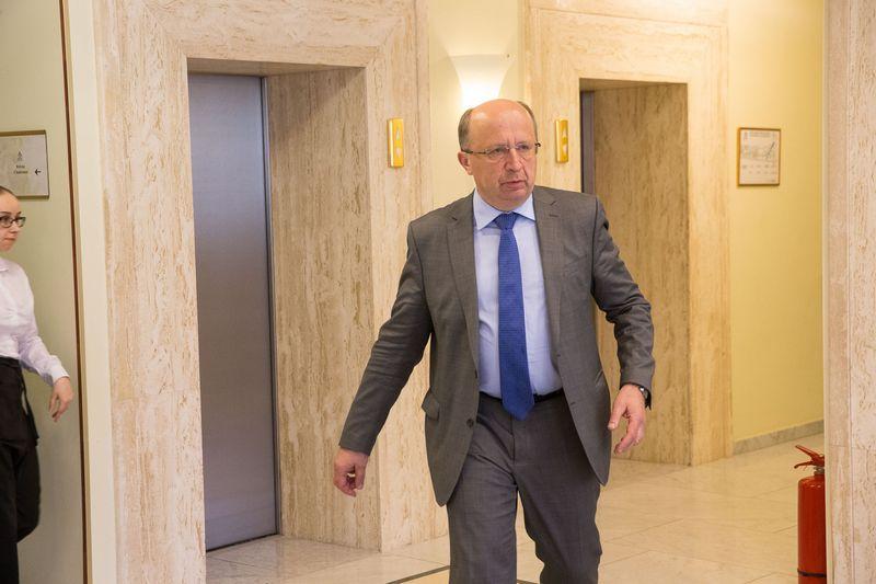 """Andrius Kubilius, partijos """"Tėvynės sąjunga-Lietuvos krikščionys demokratai"""" narys . Vladimiro Ivanovo (VŽ) nuotr."""