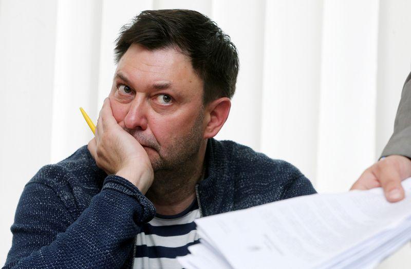 """Ria Novosti"" vadovas Kijeve Kirillas Višinskis. (""Reuters"" / ""Scanpix"") nuotr."