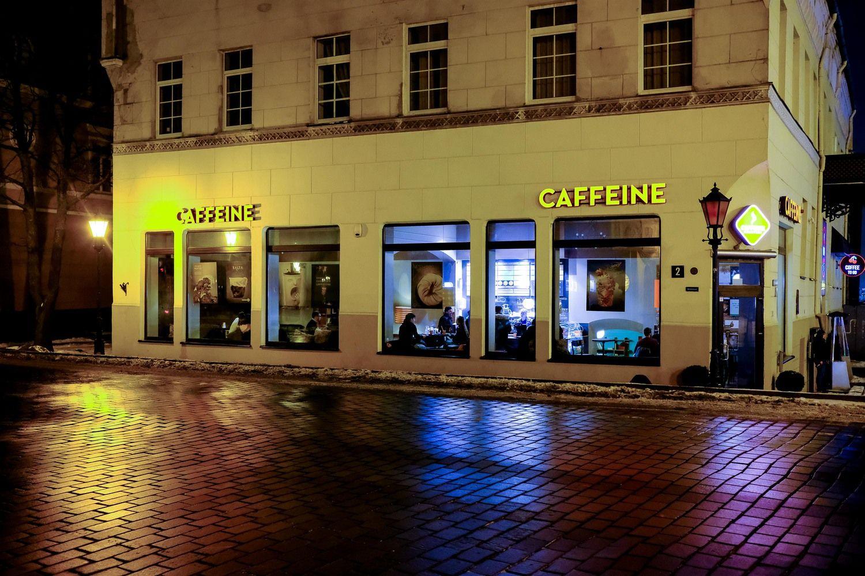 """Kavinių tinklas """"Caffeine"""" – ant prekystalio"""